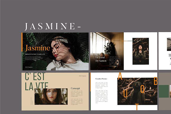 Jasmine Lookbook - Fashion Powerpoint