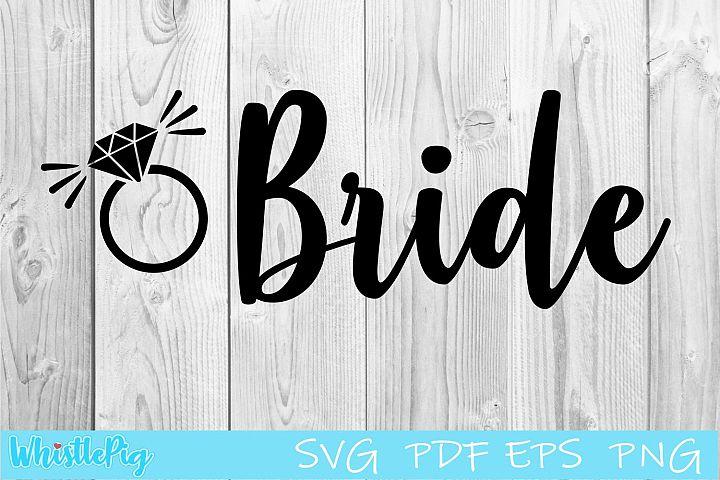 Bride SVG bride svg engagement svg bride svg wedding