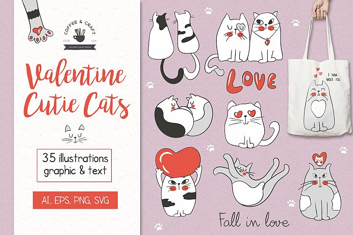 Valentine Cute Cats