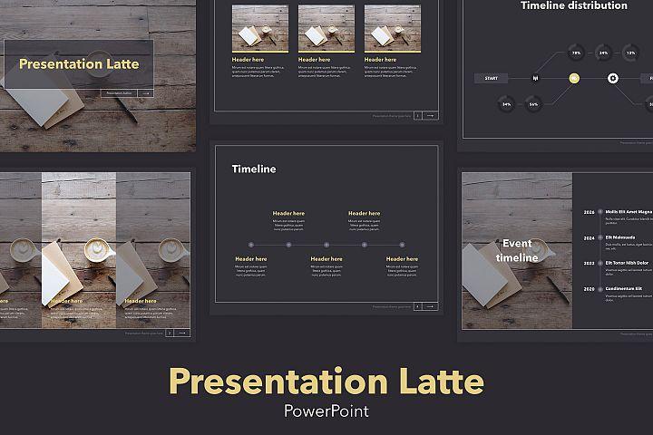 Latte PowerPoint Template