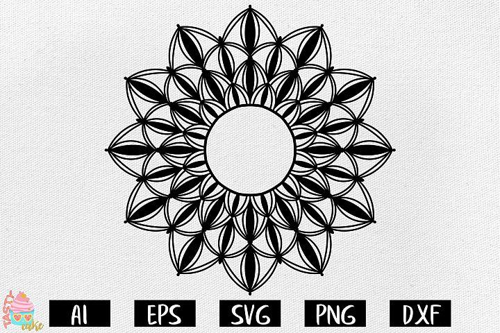 Mandala SVG - Mandala Cut Files