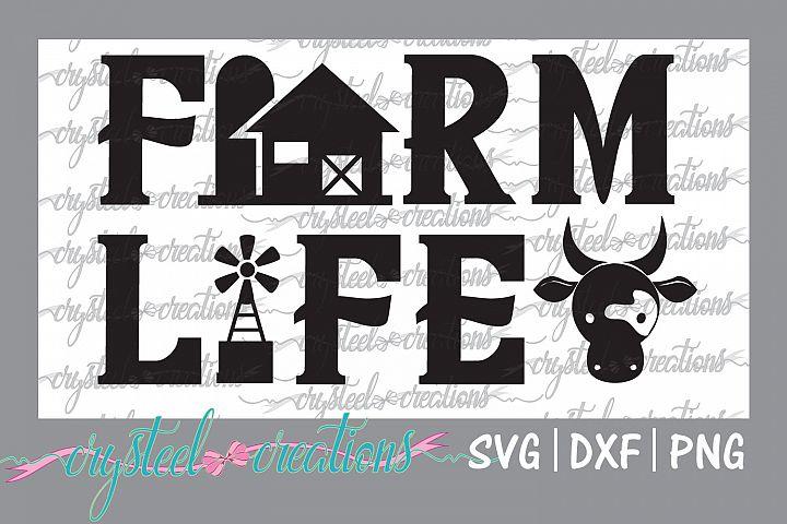 Farm Life Barn Windmill
