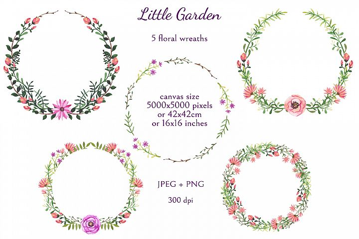 Little Garden example 7