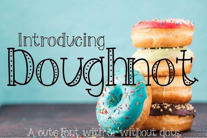 Doughnot Font