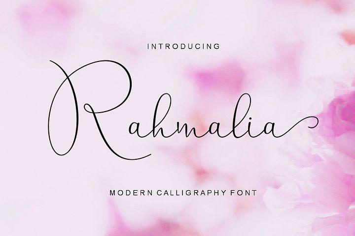 Rahmalia