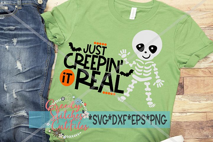 Just Creepin It Real SVG | Halloween SVG