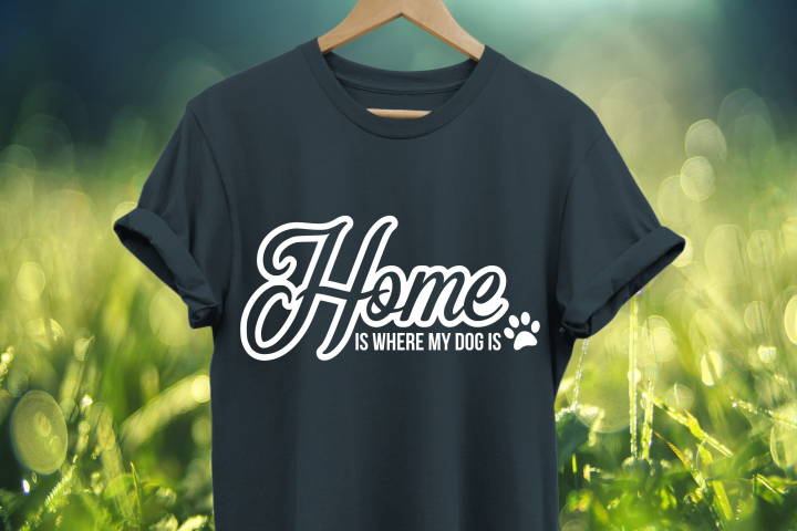 Home is where my dog is SVG