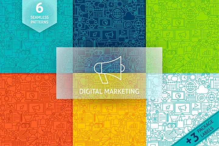 Marketing Line Tile Patterns example 1
