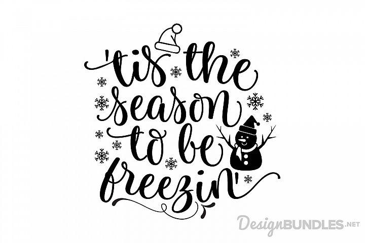 Tis the Season to be Freezin example 1