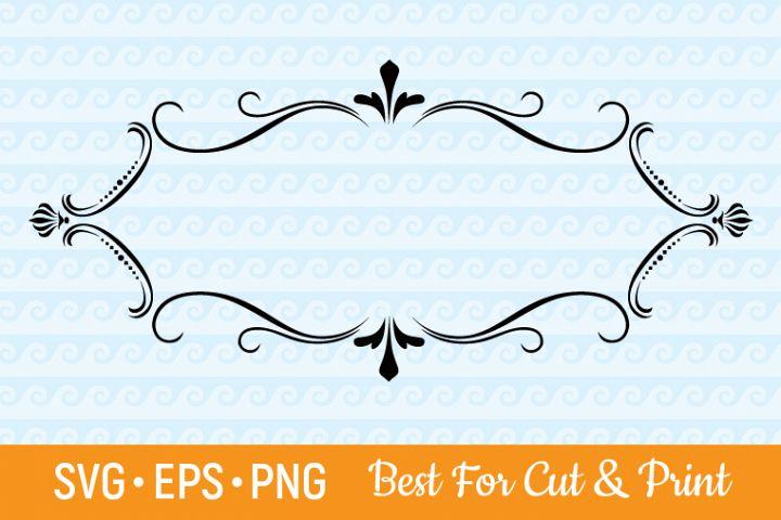 Frame SVG Border SVG Decorative SVG Banner SVG Ribbon SVG