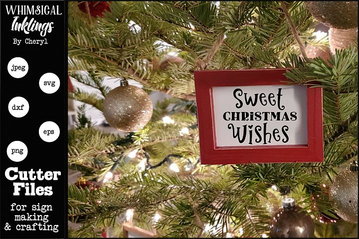 Sweet Christmas Wishes 2 SVG