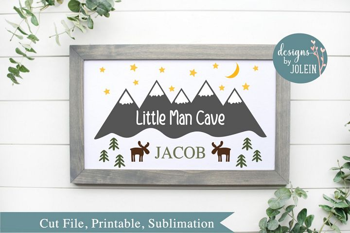Little Man Cave SVG, png, eps, sublimation, printable