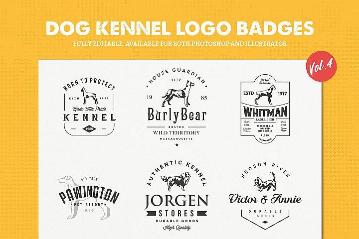 Dog Kennel Logo Badges Vol.4 / Dog Logo / Dog Shapes