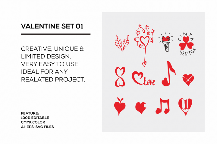 valentine set 01