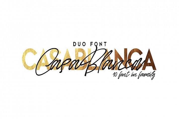 Casablanca. Font Duo