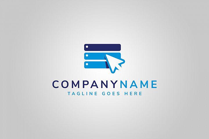Click Server Logo Template