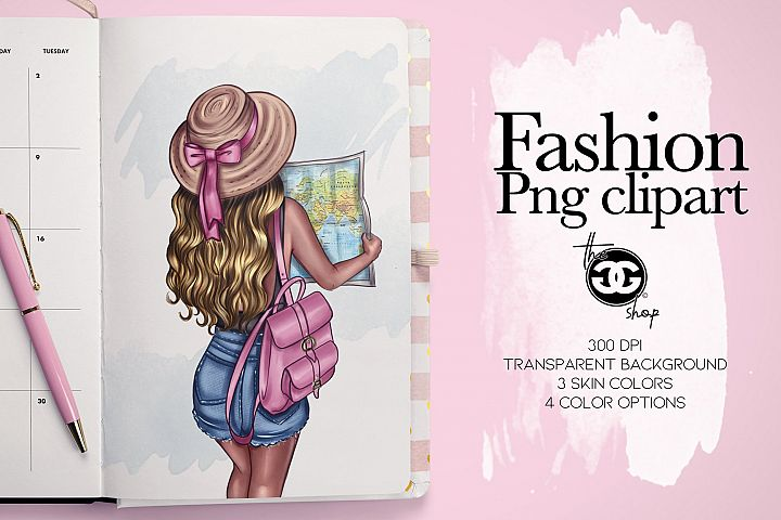 Fashion Png Clipart Planner insert decoration