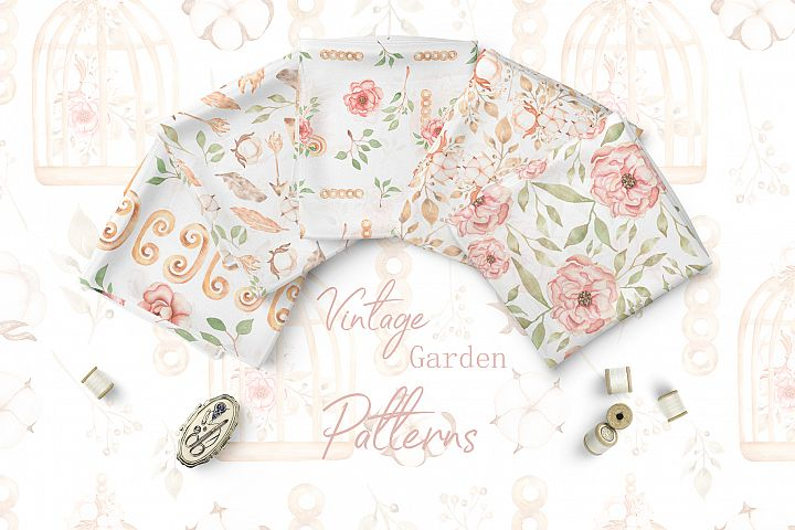 Vintage Garden pattern