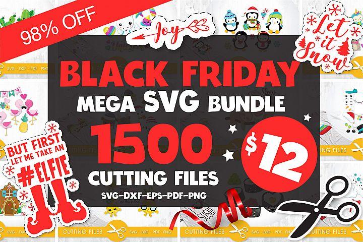 Black Friday MEGA SVG Bundle - 98OFF