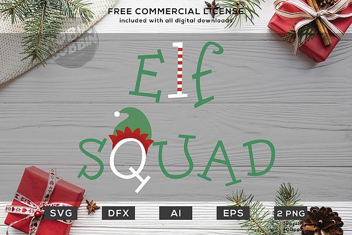 Elf Squad - Christmas SVG Design