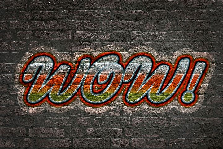 Graffiti Text Effects - 10 PSD Templates