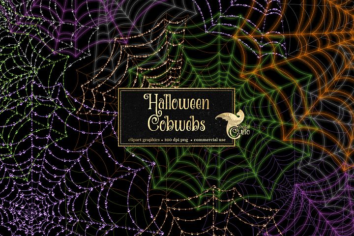 Halloween Cobweb Overlays