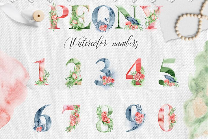 Alphabet Watercolor Clipart - Free Design of The Week Design1