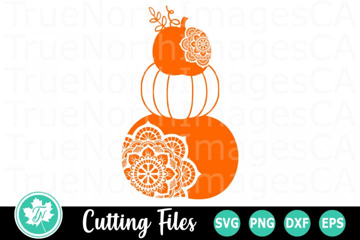 Pumpkin Stack - A Fall SVG Cut File