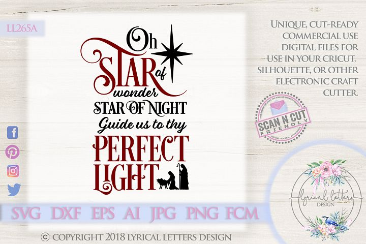 NEW! Star of Wonder SVG DXF LL265A