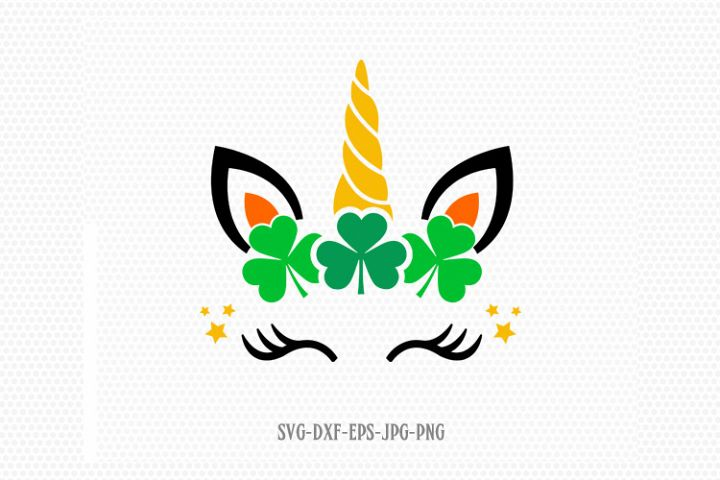St Patricks Day unicorn svg, unicorn svg, St Patricks Day