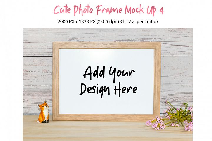 Cute Photo Frame Mock Up 4 jpg