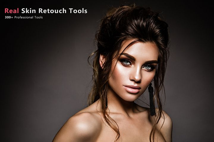 300 Real Skin Retouch Tools