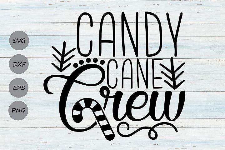 Candy Cane Crew Svg, Christmas Svg, Candycane Svg, Holidays.