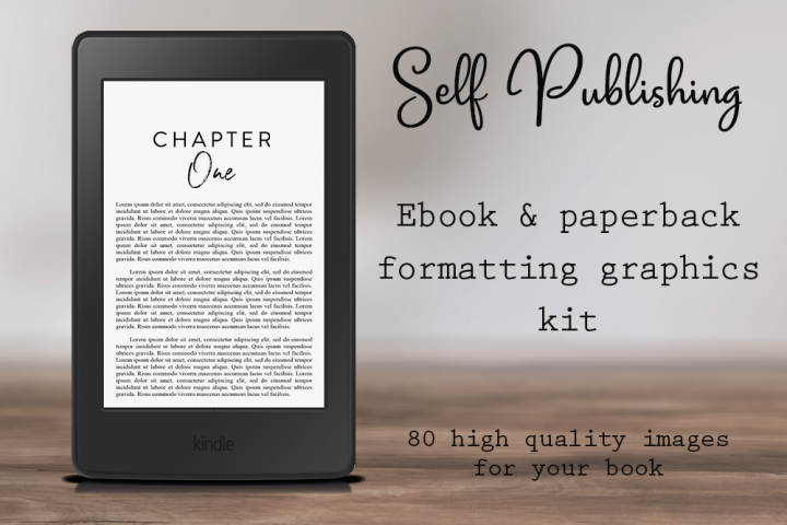 Self-Publishing Book Formatting Graphics Version 31