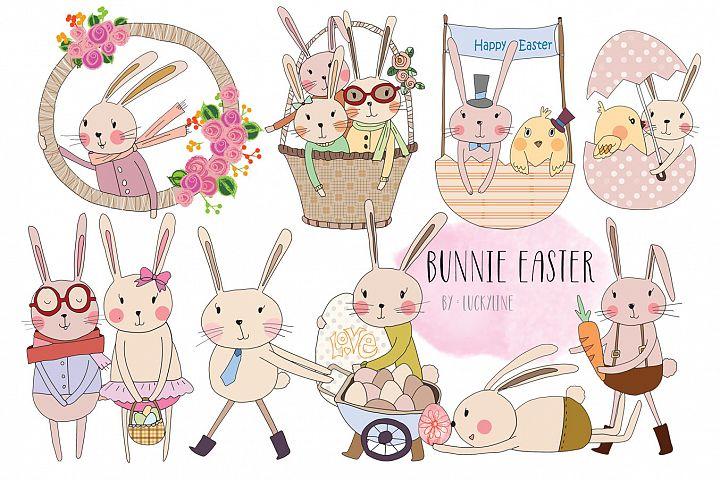 bunnie Easter clip art
