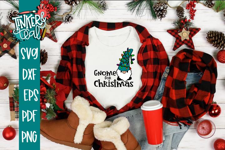 Gnome For Christmas SVG
