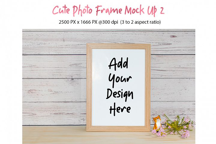 Cute Photo Frame Mock Up 2 jpg
