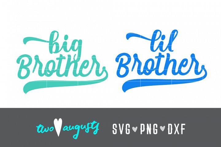 Brother Baseball Bundle, bro, brah, big, lil, new baby