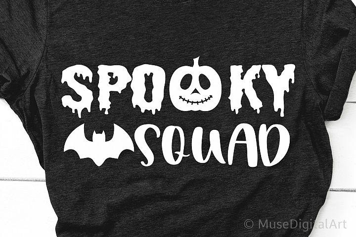 Spooky Squad Svg, Kids Halloween Svg, Trick or Treat Costume