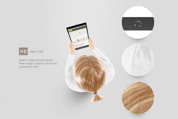 Tablet Mockup - Free Design of The Week Design 2
