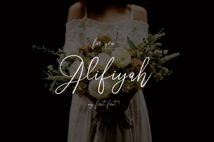 Alifiyah Font Script