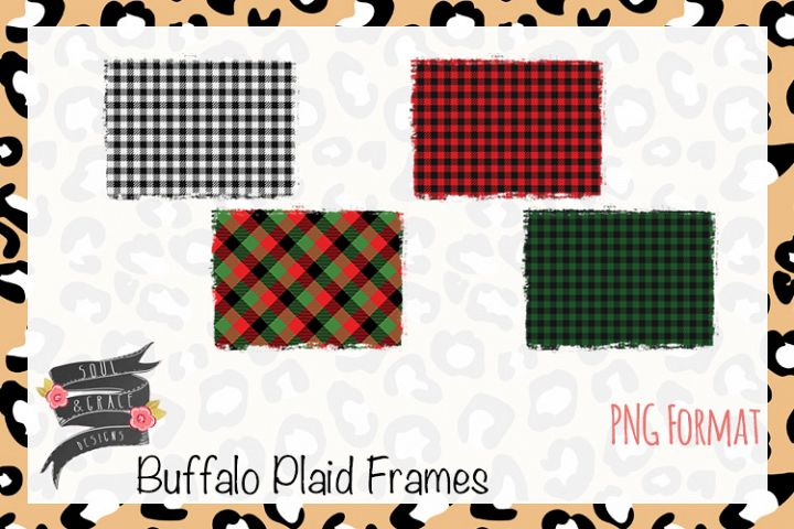 Buffalo Plaid Frames