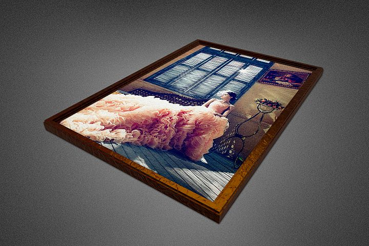 Photo Frame Mockup Template