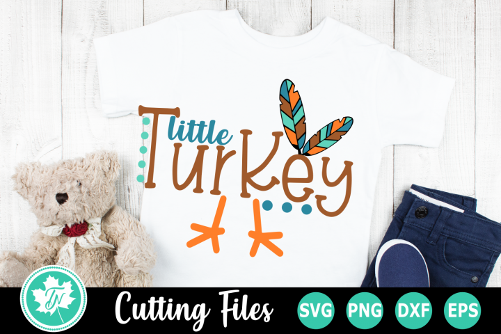 Little Turkey - A Thanksgiving SVG Cut File