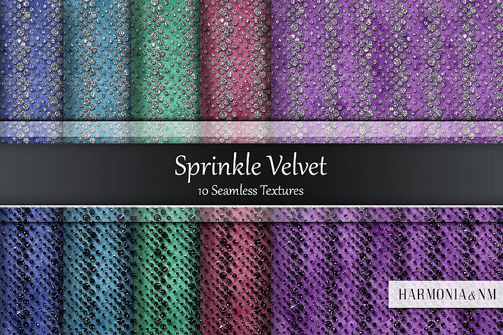 Sprinkle Velvet 10 Seamless Textures
