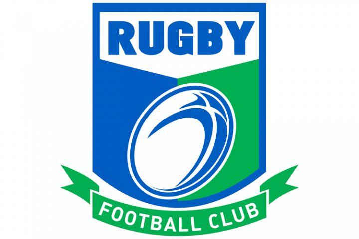 rugby ball football club shield