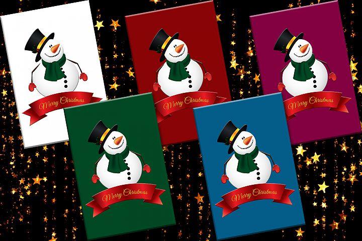Christmas, Snowman, Christmas Cards, Cards Printables