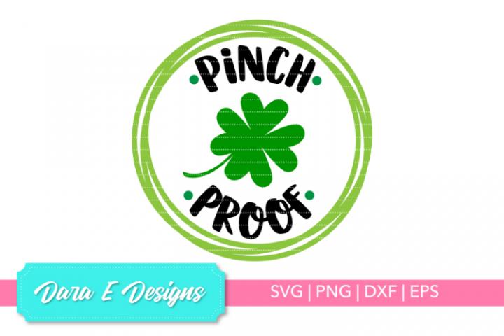 Pinch Proof SVG | St Patricks Day SVG | Luck Shirt Design