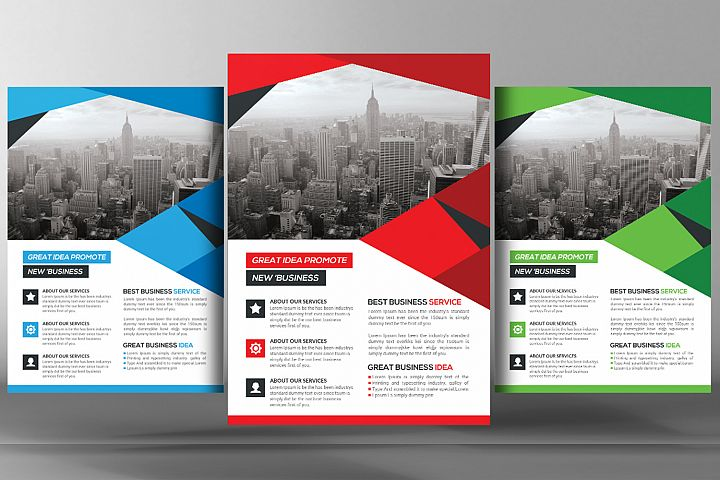 Shape Business Flyer
