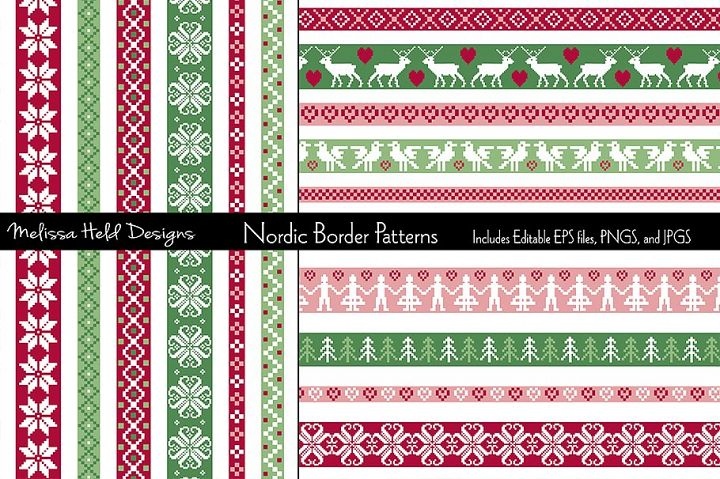 Nordic Border Patterns